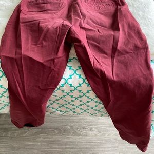 J Crew Adorable Red Pants